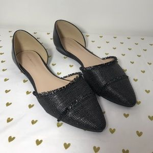 Tommy Hilfiger Black Flats - Size 8.5